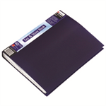 Rexel See And Store A4 Display Book 40 Pocket Blue