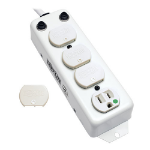 """Tripp Lite PS-407-HG-OEM power extension 82.7"""" (2.1 m) 4 AC outlet(s) Indoor White"""