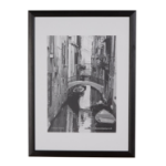Photo Album Co A4 Certificate Frame Black Wood
