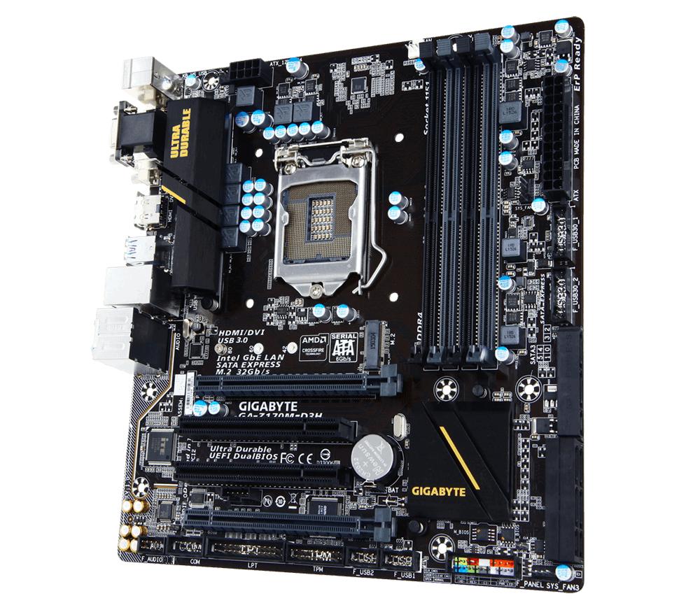 Gigabyte GA-H170M-D3H motherboard