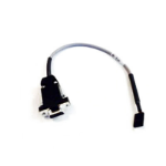 Aruba, a Hewlett Packard Enterprise company AP console port adapter cable serial cable Black DB-9