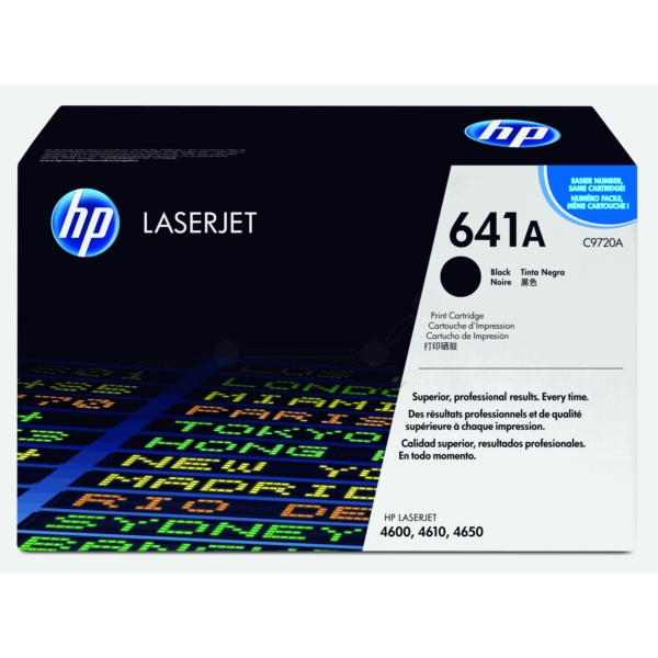 HP C9720A (641A) Toner black, 9K pages @ 5% coverage