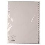White Box WB INDEX A4 A-Z POLYPROP WHITE