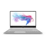 "MSI Modern 14 A10M-457AU Notebook Silver 35.6 cm (14"") 1920 x 1080 pixels 10th gen Intel® Core™ i5 8 GB DDR4-SDRAM 512 GB SSD Wi-Fi 5 (802.11ac) Windows 10 Home"