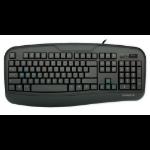 Gigabyte Force K3 USB QWERTY Black keyboard
