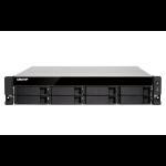 QNAP TS-873U-RP Ethernet LAN Rack (2U) Black NAS