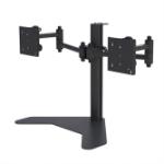 "PMV PMVDESKTOPDUAL flat panel desk mount 81.3 cm (32"") Freestanding Black"
