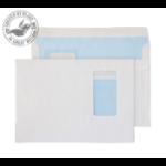 Blake Purely Everyday White Window Self Seal Wallet C5 162x229mm 100gsm (Pack 500) window envelope