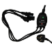 Videk 2098YC 2m Power plug type G Black power cable
