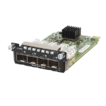 Hewlett Packard Enterprise Aruba 3810M 4SFP+ Module network switch moduleZZZZZ], JL083A
