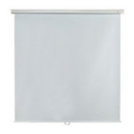 Metroplan - Budget - 200cm x 200cm - 1:1 - Manual Projector Screen