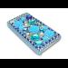 Sandberg Bling Cover 4/4S Blue flowers
