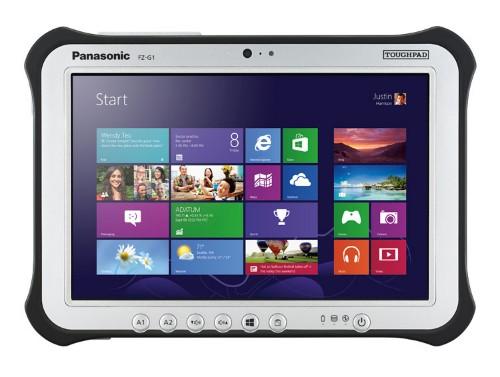 Panasonic Toughpad FZ-G1 tablet 6th gen Intel® Core™ i5 i5-6300U 128 GB Black,Silver