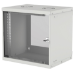 "Intellinet 19"" Basic Wallmount Cabinet, 9U, 400mm Deep, IP20-Rated Housing, Max 50kg, Flatpack, Grey"
