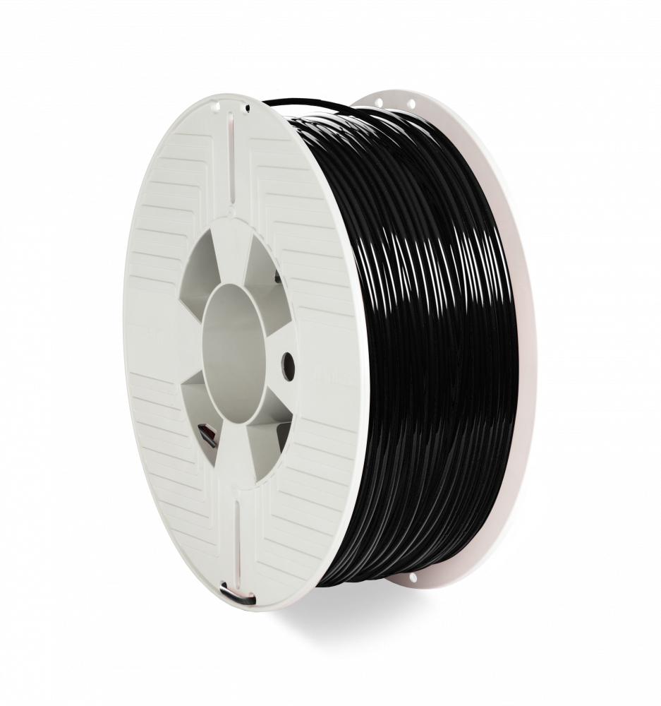 Verbatim 55060 3D printing material Polyethylene Terephthalate Glycol (PETG) Black 1 kg