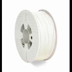 Verbatim 55058 3D printing material Polyethylene Terephthalate Glycol (PETG) White 1 kg