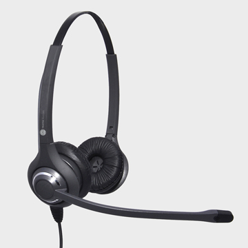 JPL 611PB headset Head-band Binaural Black