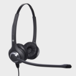 JPL 611PB Binaural Head-band Black headset