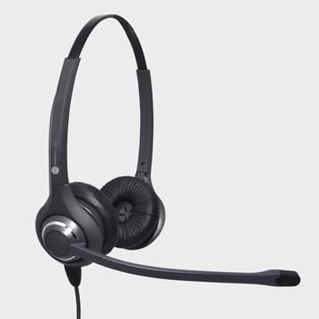 JPL 611PB Binaural Head-band Black headset