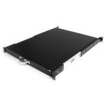 StarTech.com 22in Black Deep Sliding Server Rack Cabinet Shelf