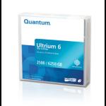 """Quantum MR-L6MQN-20 blank data tape LTO 2500 GB 0.5"""" (1.27 cm)"""