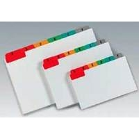 Concord Guide Cards A-Z 152x102 Assorted
