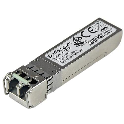 StarTech.com 10 Gigabit Fiber SFP+ Transceiver Module - Cisco Meraki MA-SFP-10GB-SR - MM LC with DDM - 300 m (984 ft)