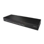 Digitus Cat. 5 Combo, USB - PS/2 1U Black KVM switch