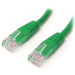 StarTech.com 10 ft Green Molded Category 5e (350 MHz) UTP Patch Cable
