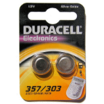 Duracell D357 Silver-Oxide (S) 1.5V non-rechargeable battery