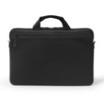 "Dicota Ultra Skin Plus PRO notebook case 35.8 cm (14.1"") Briefcase Black"