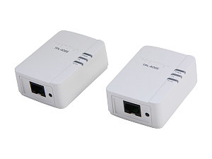 Trendnet Powerline AV Nano Adaptor Kit  - White, 500Mbps, 2.2W (TPL-406E2K)