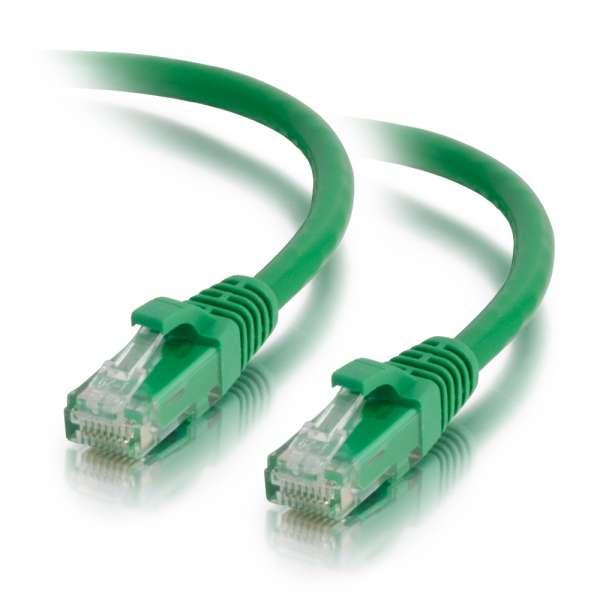 C2G Cable de conexión de red LSZH UTP, Cat6A, de 3 m - Verde