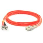 "AddOn Networks 1m ST-LC fiber optic cable 39.4"" (1 m) OM1 Orange"