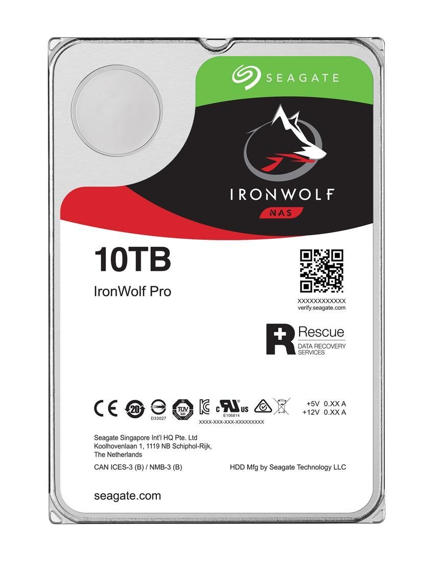 "Seagate IronWolf Pro 3.5"" 10000 GB Serial ATA III"