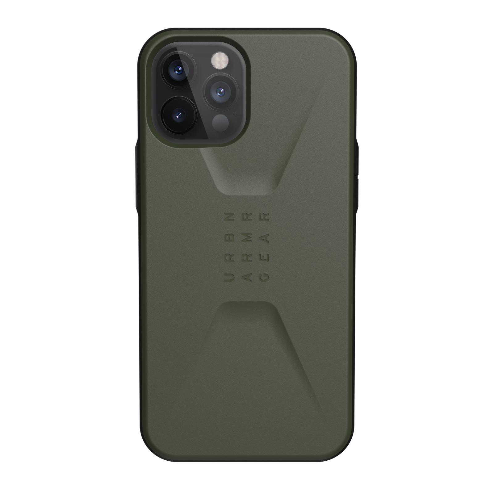 "Urban Armor Gear Civilian funda para teléfono móvil 17 cm (6.7"") Oliva"