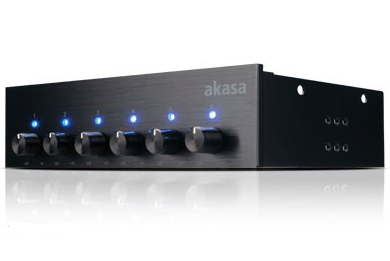 Akasa AK-FC-08BKV2 fan speed controller