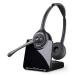 Plantronics CS520/A Binaural Head-band Black headset 84692-02