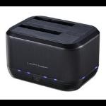 LC-Power LC-DOCK-U3-III storage drive docking station USB 3.0 (3.1 Gen 1) Type micro-B Black