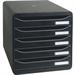 Exacompta 309714D desk tray Polystyrene Black