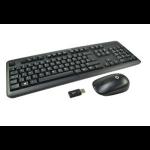 2-Power ALT2679A RF Wireless QWERTY UK English Black keyboard