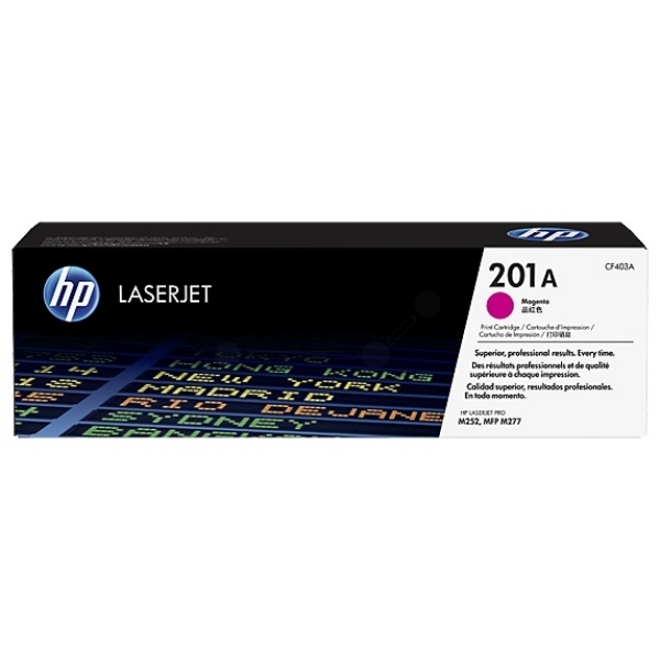 HP CF403A (201A) Toner magenta, 1.4K pages