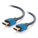 C2G 82380 cable HDMI 3 m HDMI tipo A (Estándar) Negro, Azul