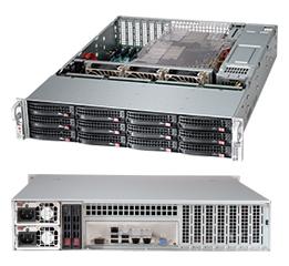 Supermicro CSE-826BE16-R920LPB computer case Rack Black 920 W