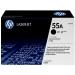 HP CE255A (55A) Toner black, 6K pages