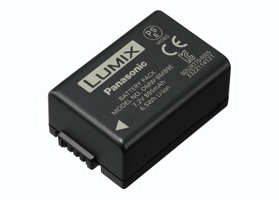 PANASONIC DMW-BMB9E CAMERA/CAMCORDER BATTERY LITHIUM-ION (LI-ION) 895 MAH