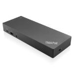 Lenovo 40AF0135UK notebook dock/port replicator Wired USB 3.2 Gen 1 (3.1 Gen 1) Type-C Black