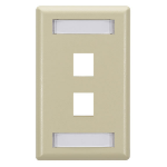 Black Box WPT460-10PAK wall plate/switch cover Ivory
