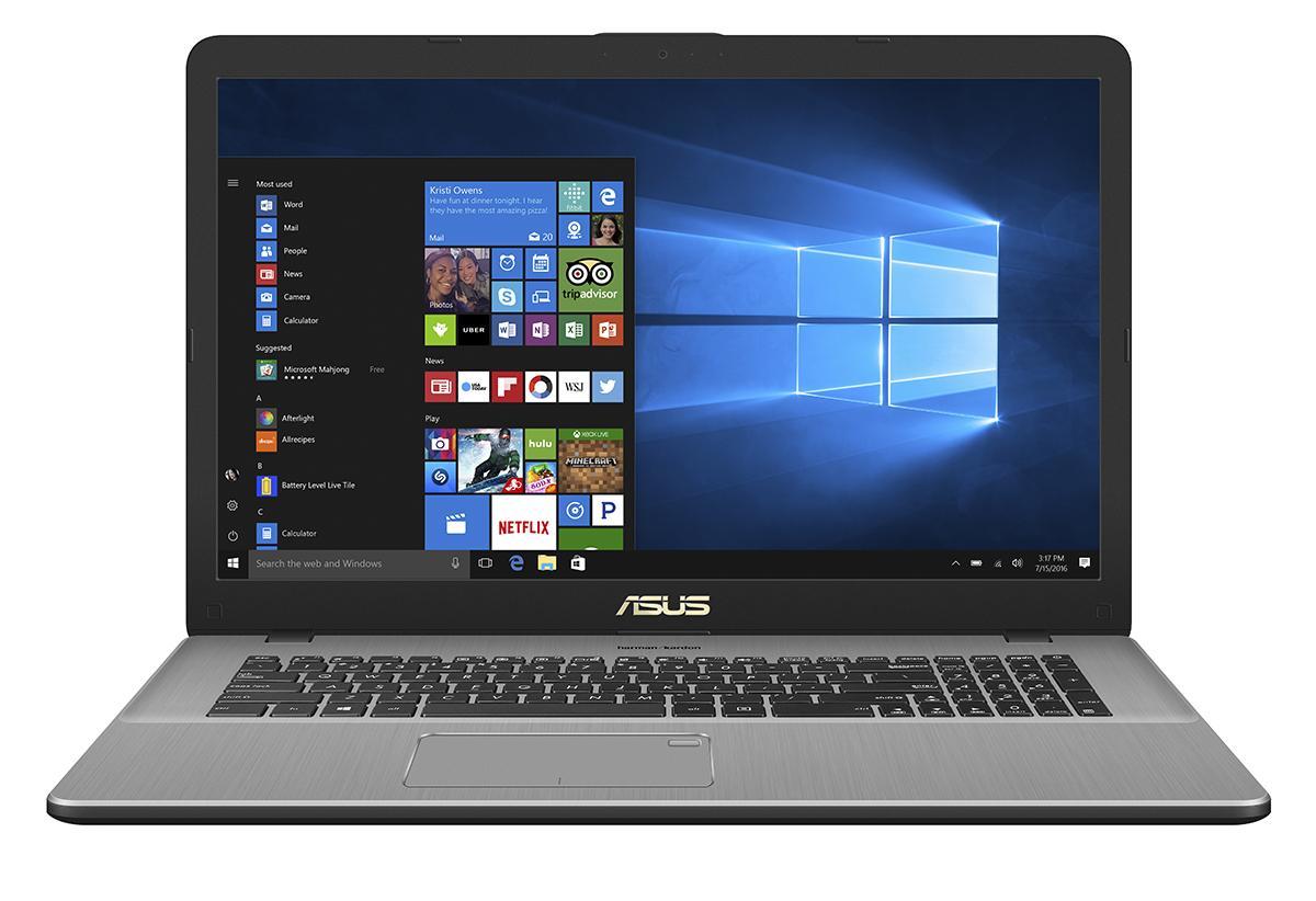 "ASUS VivoBook Pro N705FD-GC043T Grijs Notebook 43,9 cm (17.3"") 1920 x 1080 Pixels 1,8 GHz Intel® 8ste generatie Core™ i7 i7-8565U"