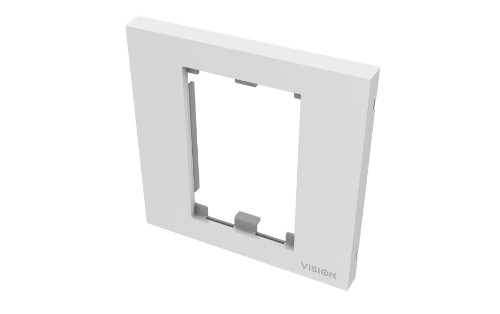 Vision TC3 SURR1G wall plate/switch cover White